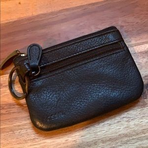Fossil key /coin purse